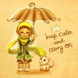 Keep Calm and Carry On by ambientdream