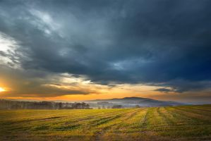 Evening Landscape by vlastas