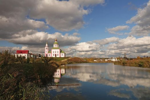 Suzdal town by Nickdan