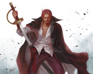 ONE PIECE-SHANKS by inhyuklee