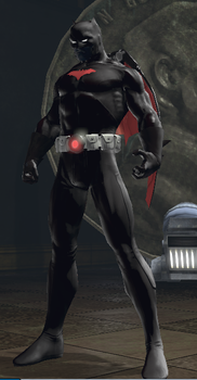 DCUO - Batman Beyond by fishgutsconquersall