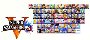 Super Smash Bros. V/5 (Switch) Roster Predictions by quintonshark8713