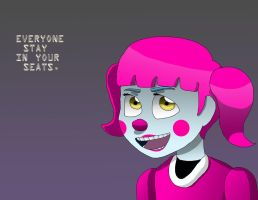 Five Nights at Freddy's Sister Location- Baby by Skywardsister