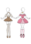 OPEN AUCTION - Outfit Designs by KaiNoKimi