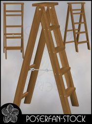 Ladder 003 by poserfan-stock