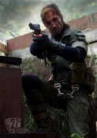 MGS 3 - Snake's 27th anniversary.... by RBF-productions-NL