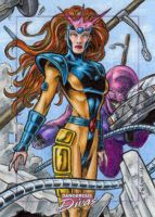 Jean Grey - Dangerous Divas by tonyperna
