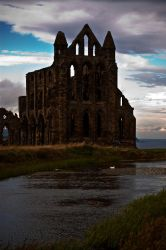 Whitby Abbey In September by CrazyTailz
