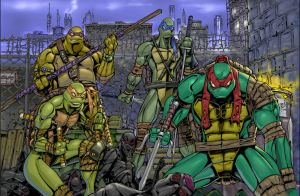 TMNT Power!!! by Superpael