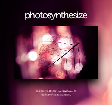 photosynthesize by salmanarif