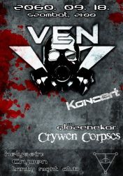VeN promotional poster by BloodlustComics
