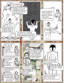 watchmen essay comic by bluebird laughing on  bluebird laughing 0 0 watchmen a dialogue 4 by bluebird laughing