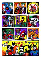 The Story of Harley Quinn and Mr. J by fig13
