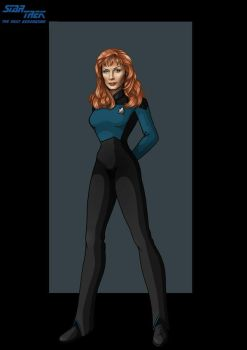 doctor beverly crusher by nightwing1975