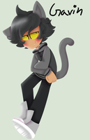 Gavin (OC Lineless Commission) by LoveMe2346