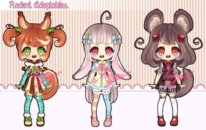 [OPEN] Rodent Adoptables Auction [1/3] by Kiriyan