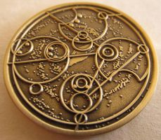 Time Lord Coin - Bronze Age Edition by ce-e-vel