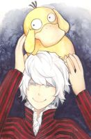 DeSu 2: Al Saiduq with Psyduck by ShiSeptiana