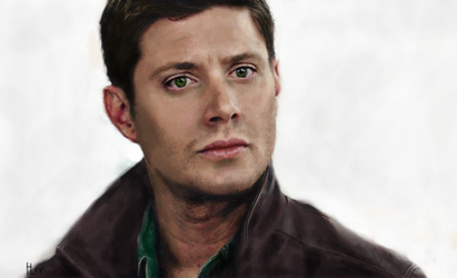Dean Winchester by LamiaSage