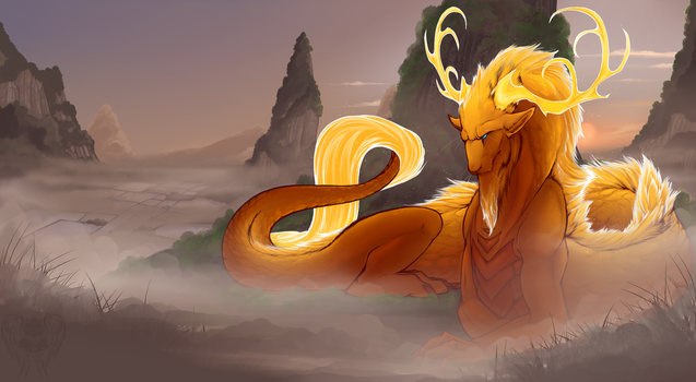 -Golden Guardian- by Traconian