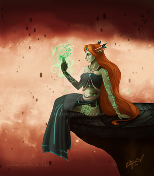 .:OC Project: Symbol Sorceress by Anilede