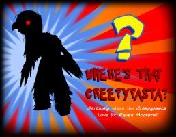 Where's that Creepypasta? - Raven Mocker Concealed by Crazon
