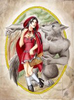 .Little Red Riding Hood. by ToraNoKage13