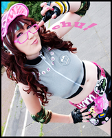 Air Gear: Chu at ya head by flakes-sama