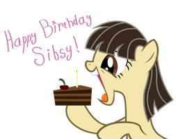 Happy Birthday Sibsy by JoeMasterPencil
