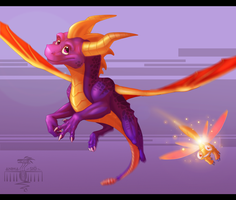 Spyro Reignited by NeonSpaceArtist