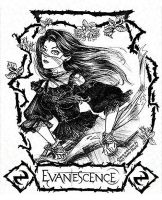 Amy Lee: Evanescence by Elfmaid