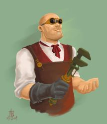 Man of Science by saeryph