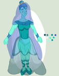 Blue Pearl Adopt [Open] by xDarkNecroFearx