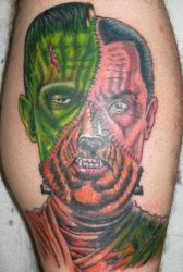 Monster Mash Tattoo by Mr-Taboo