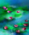 Water Lillies by fullcolour-canvas