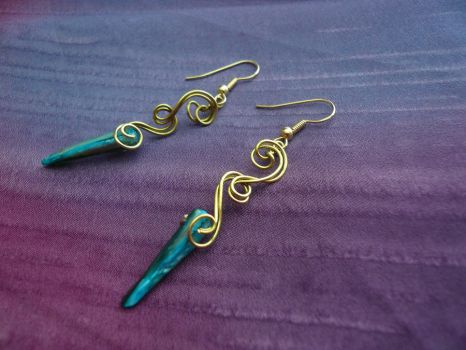 Wintersong Earrings by Starlit-Sorceress