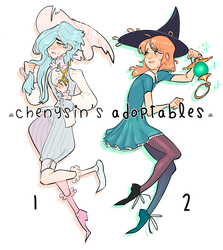 [CLOSED] 'Crying Witches' adopts by chenysin