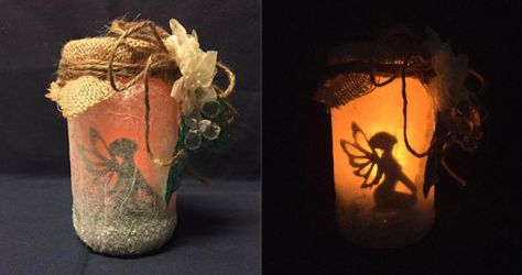 Fairy Jar by princessfromthesky