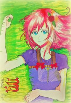 Virgo: Female version 2 (using markers) by lear709