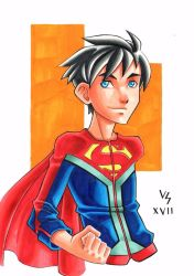 Superboy by Bruno-Varanda