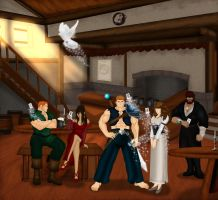 The looking glass tavern by odovoro