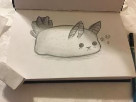 Sea bunny  by Pinkwolfly