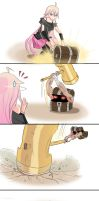 IA squashed by Mimic by DunbyKitsunee