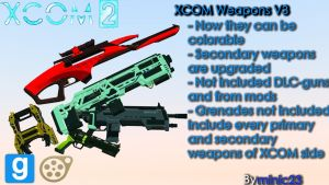 [DL SFM/GMOD] XCOM 2 Weapons Models V3 by falloutshararam