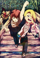 Cute SASORI + DEIDARA Kids by Kaoyux