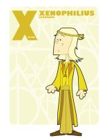 X is for the Xenophilius Lovegood by jksketch