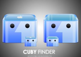 Cuby Finder icon by MDGraphs