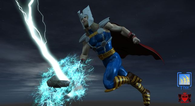Thor 2 by TheRedCrown