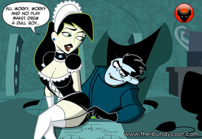 Shego maid my day No. 2 by The-Bundycoot