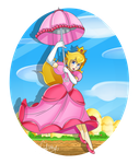 Peach by colorfulkitten